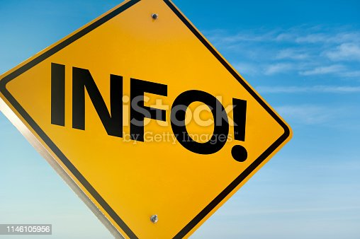 istock INFO! / Warning sign concept (Click for more) 1146105956