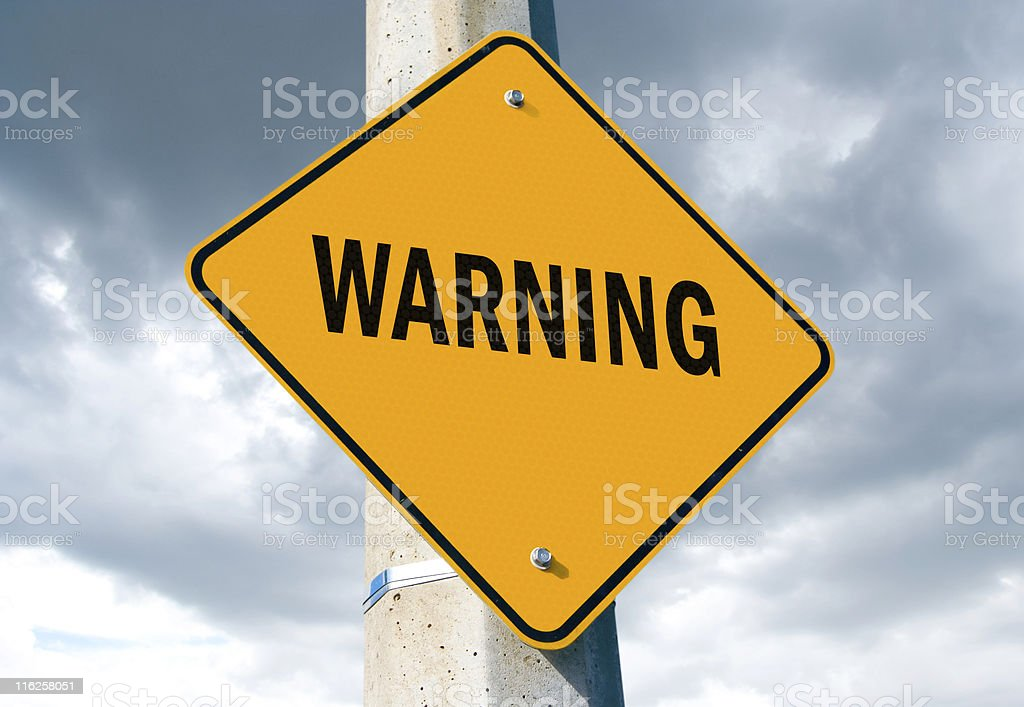 Warning Sign http://www.gocosmonaut.com/istock/promotion/safety.jpg Care Stock Photo