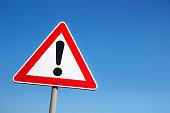 istock Warning sign 472207351