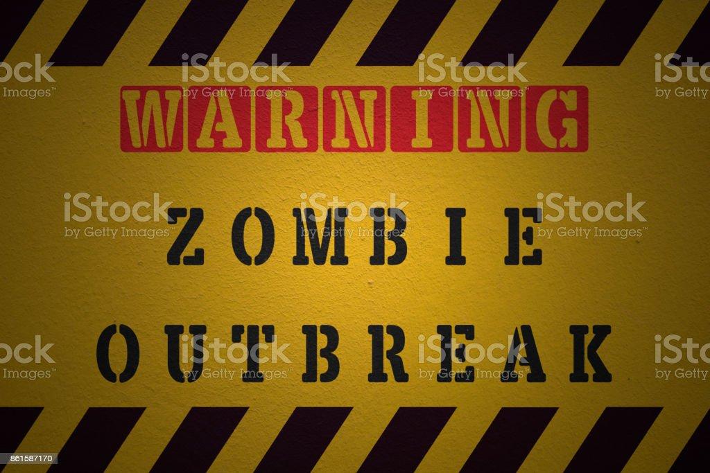 Attention épidémie de Zombie - Photo