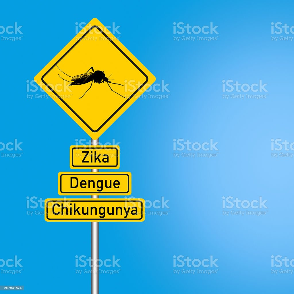 warns of dengue, zika, chikungunya stock photo