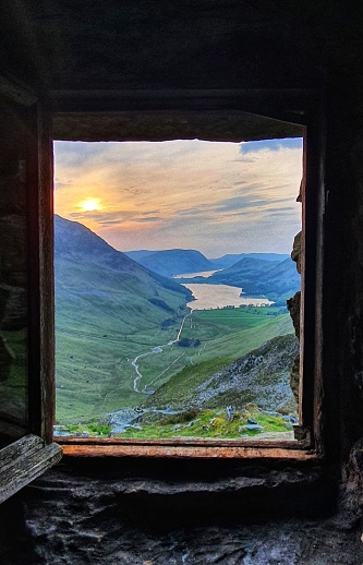 View from Warnscale bothy, Buttermere
