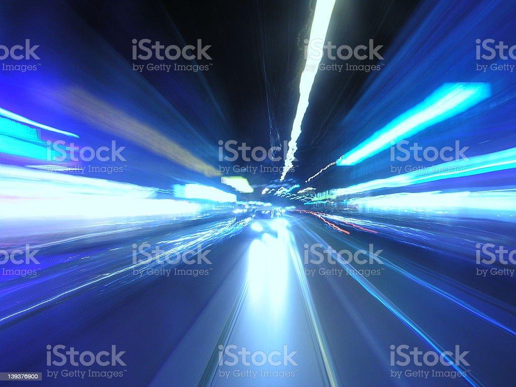 Warp Speed I royalty-free stock photo