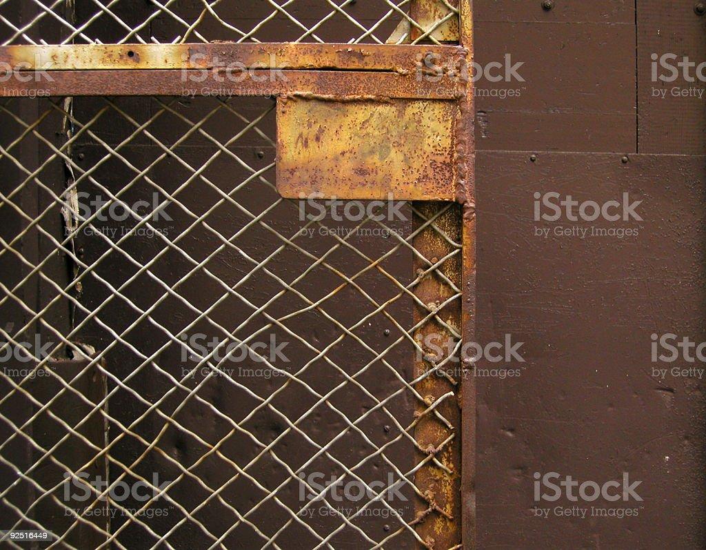 Warped Gate royalty-free stock photo