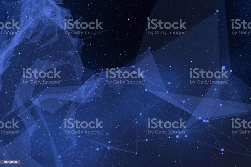 Warped Spacetime Backgrounds stock photo