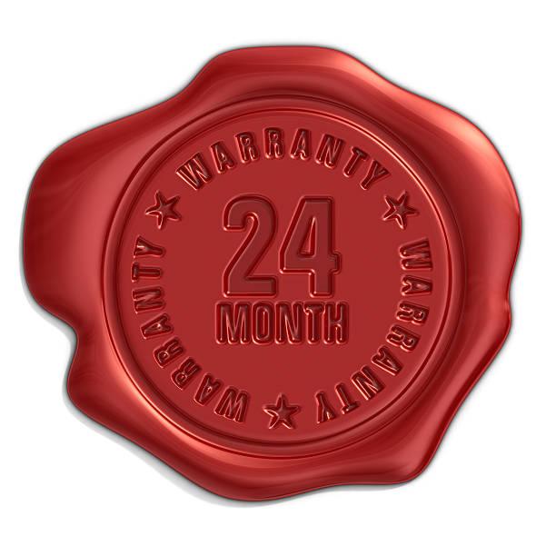 sceau de garantie - nombre 24 photos et images de collection