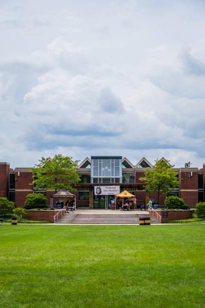 Warren Student Services Center at Bloomsburg University stock photo
