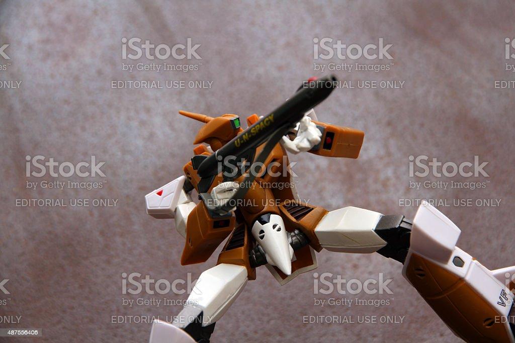 Warrior Robot stock photo