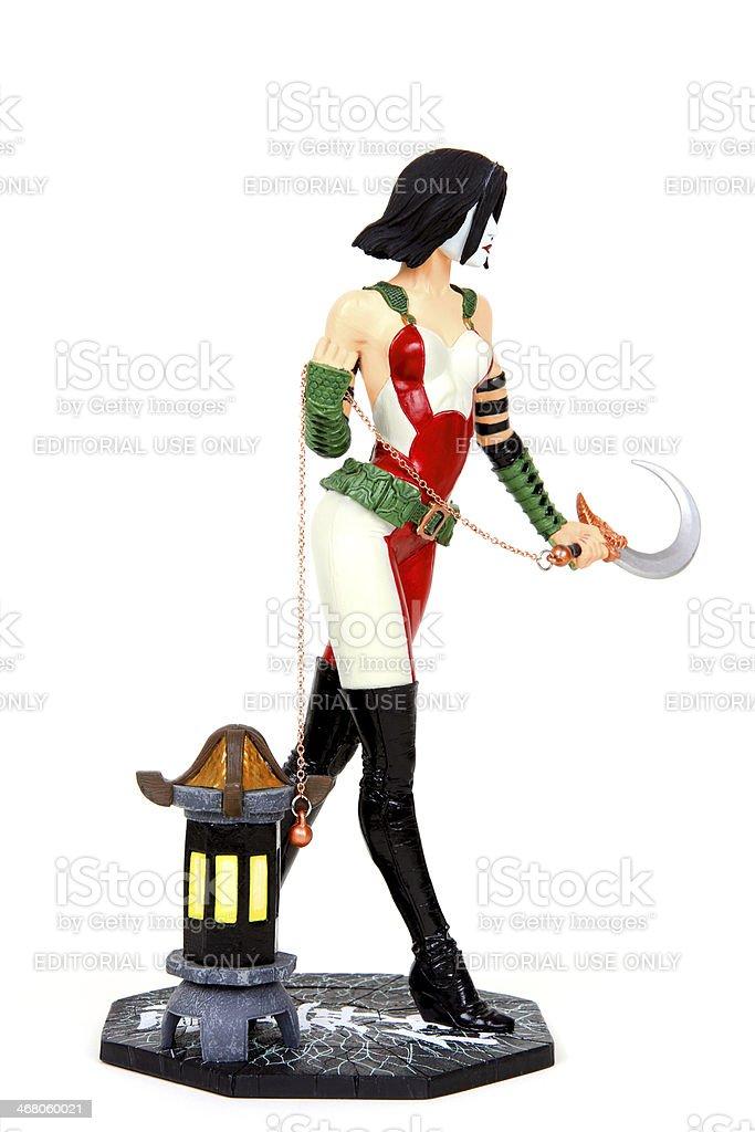 Warrior's Stride royalty-free stock photo