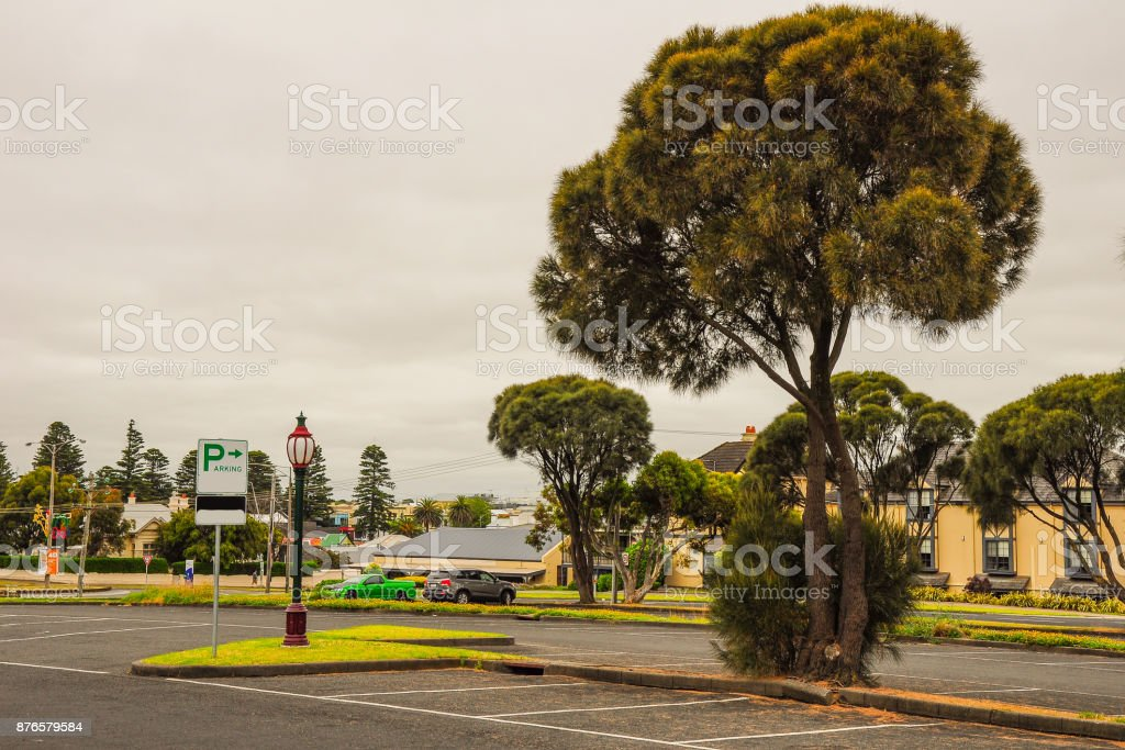 Warrnambool. The great ocean road. Australia. Victoria stock photo
