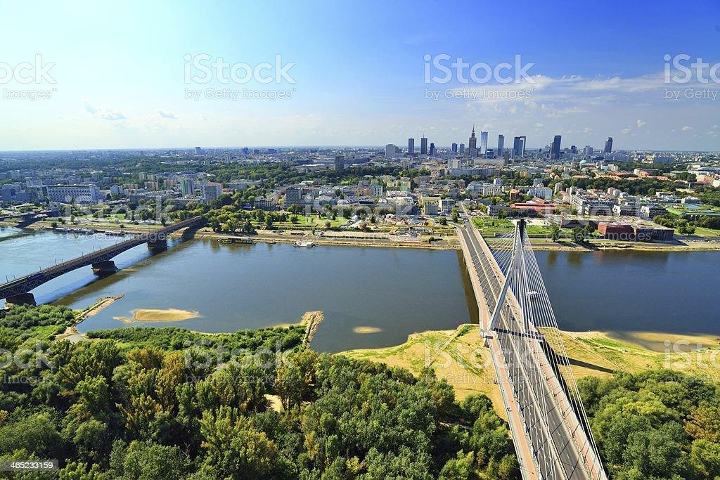 Warsaw. stock photo