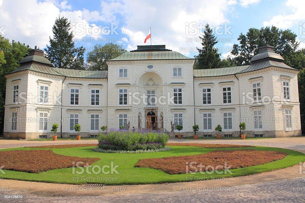 Warszawa Myslewicki Pałac W łazienki Królewskie Zdjęcia