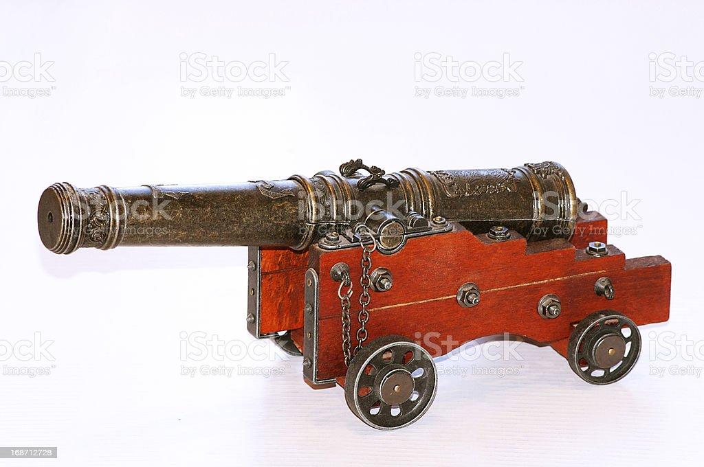 warship cannon royalty-free stock photo