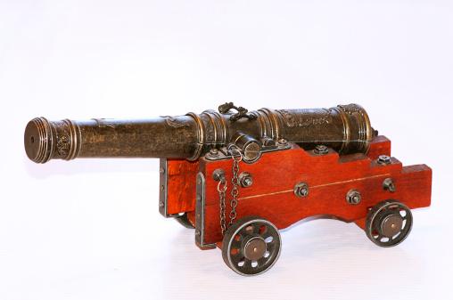 warship cannon