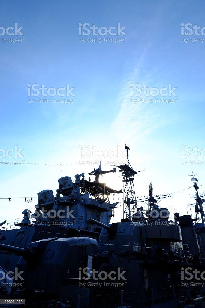 warship royalty-free stock photo