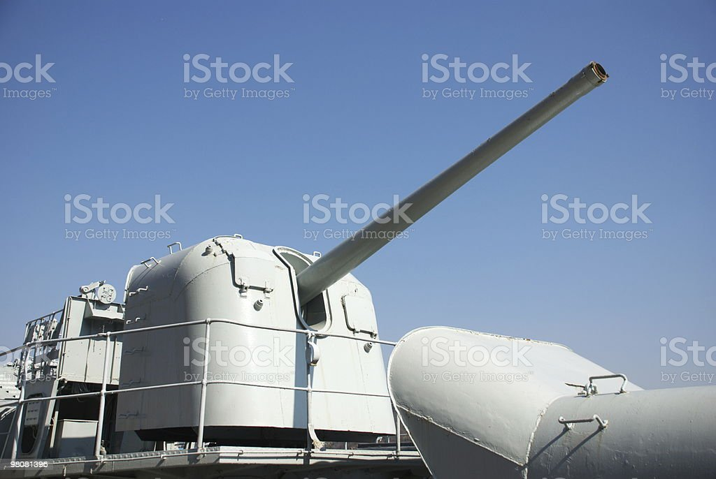 warship royalty-free stock photo
