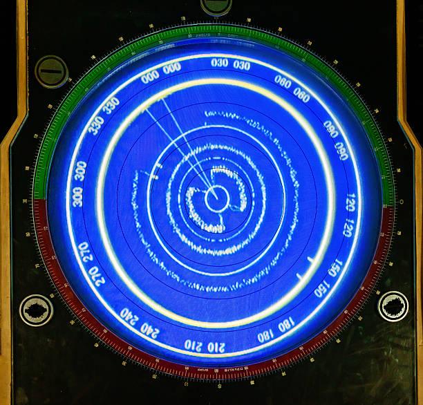 Kriegsschiff radar Suche – Foto