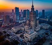 Zdjęcie Warszawy z powietrza