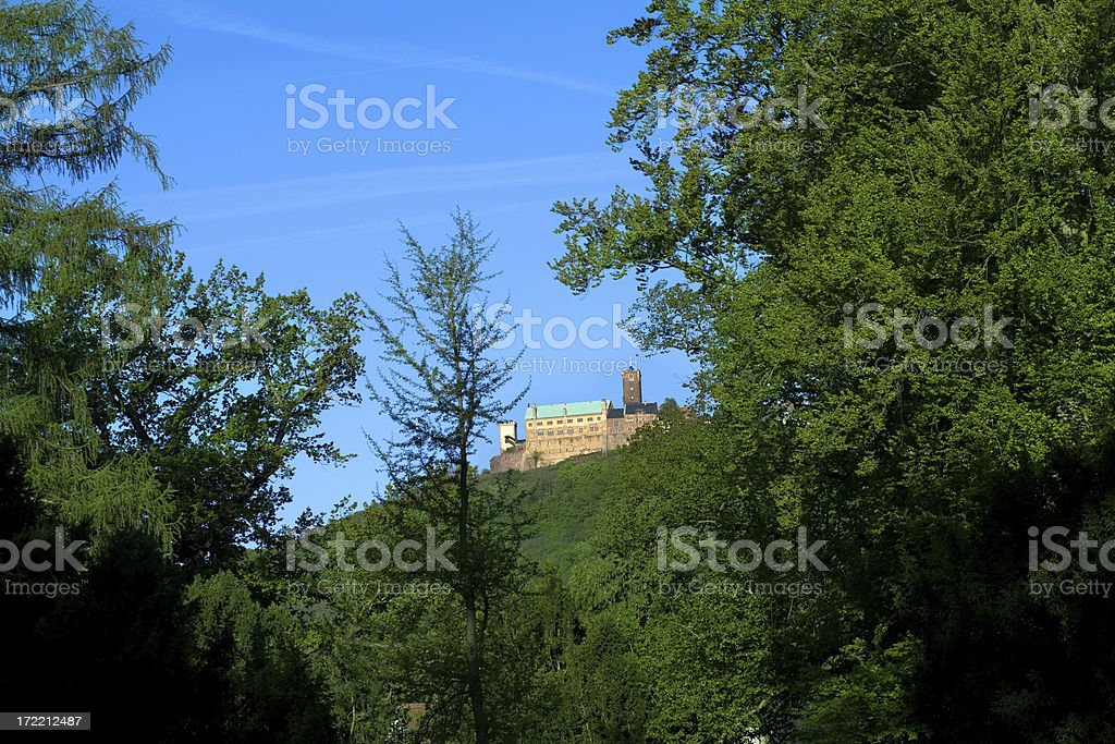 Wartburg - Luther & the bible stock photo