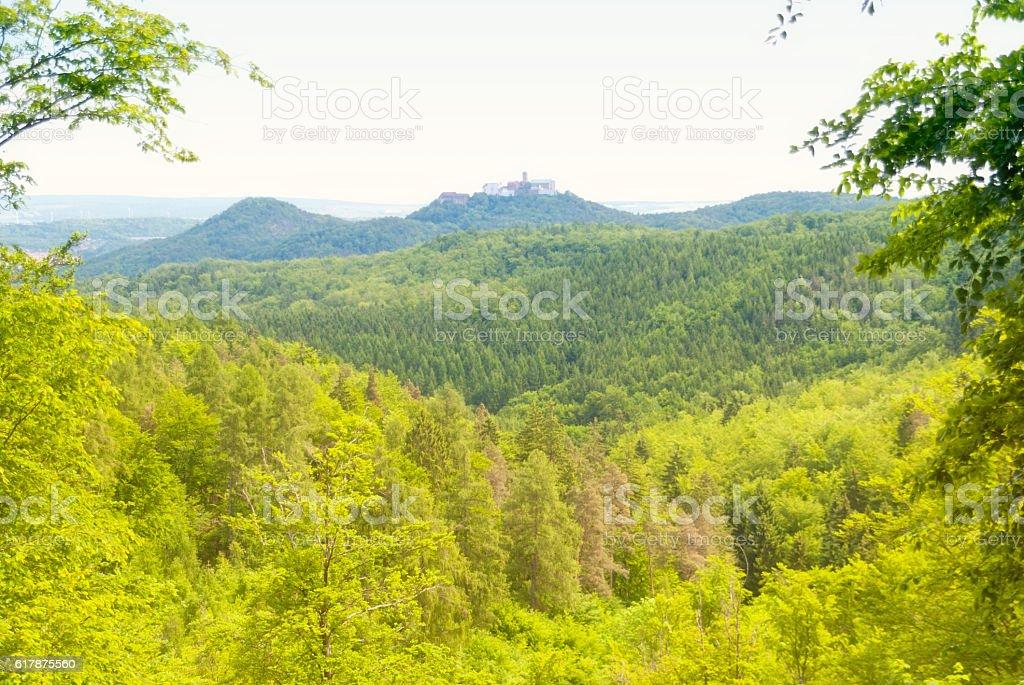 Wartburg View stock photo