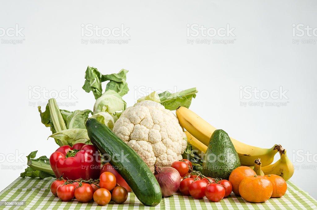 Warzywa i owoce stock photo