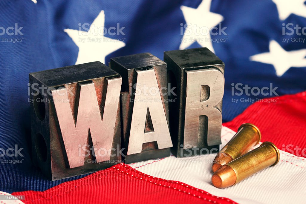 War stock photo