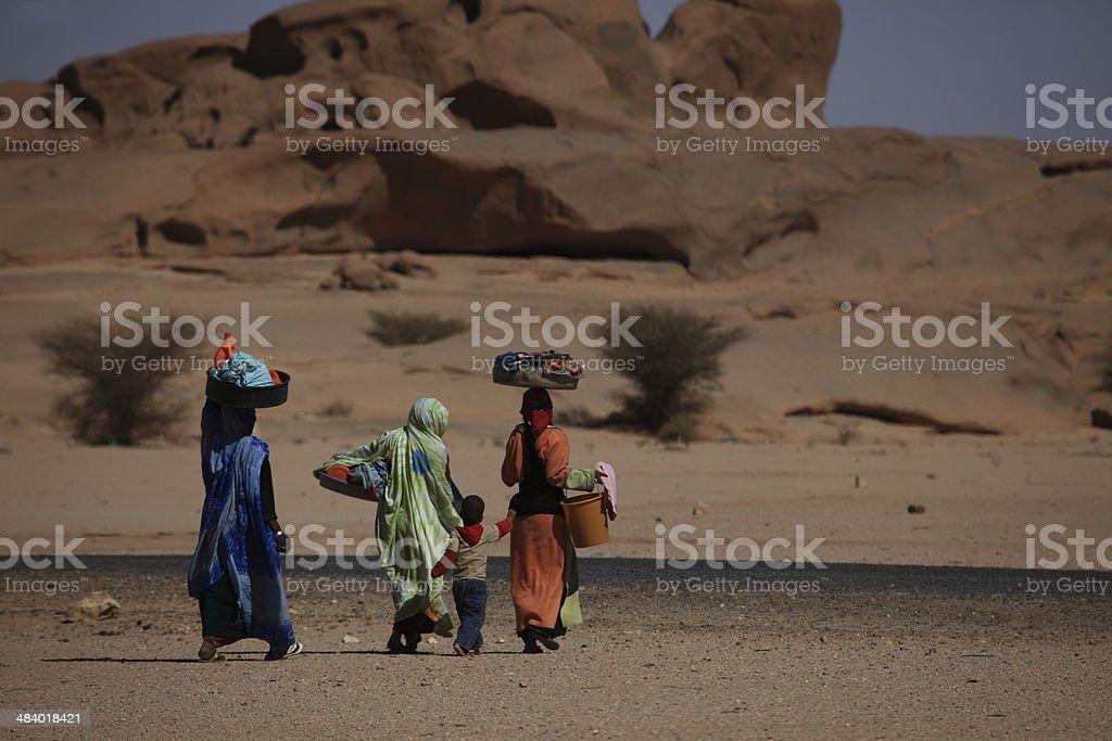 Waschfrauen dans Afrika - Photo