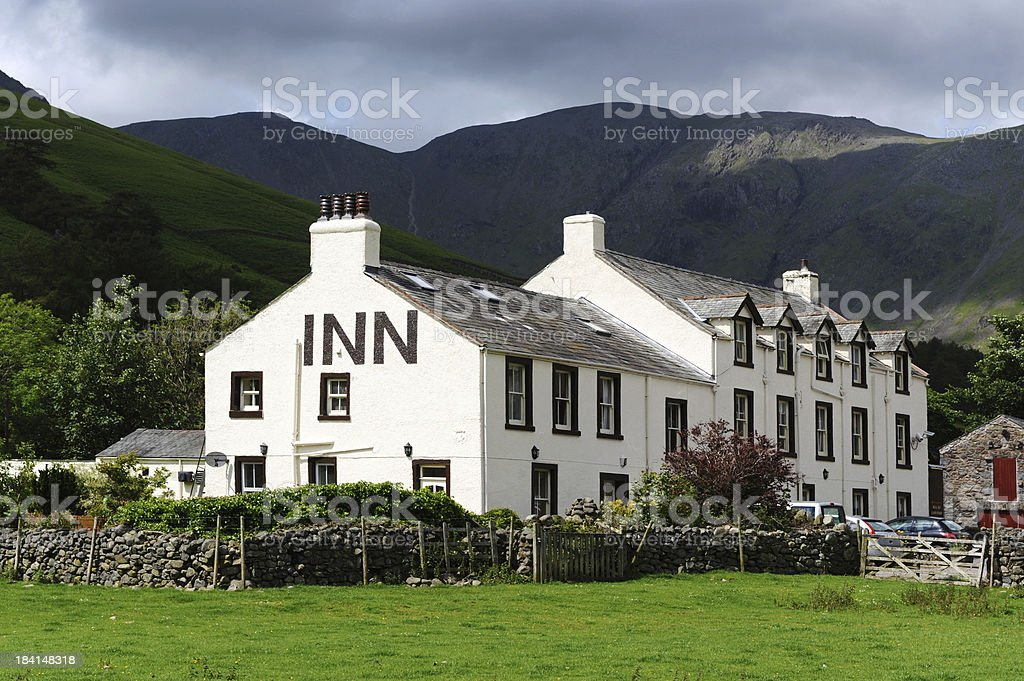 Wasdale Head Inn stock photo