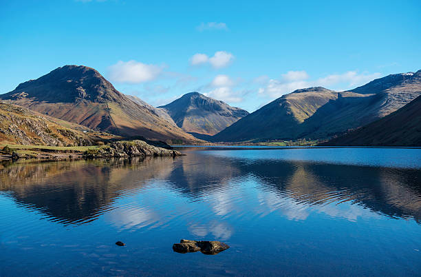 Wasdale Head Mountains in English Lake District Often described as 'Britain's Favourite View