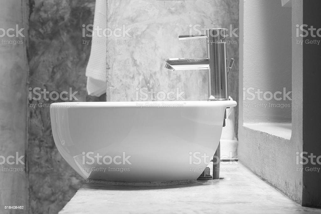 wash basin stock photo