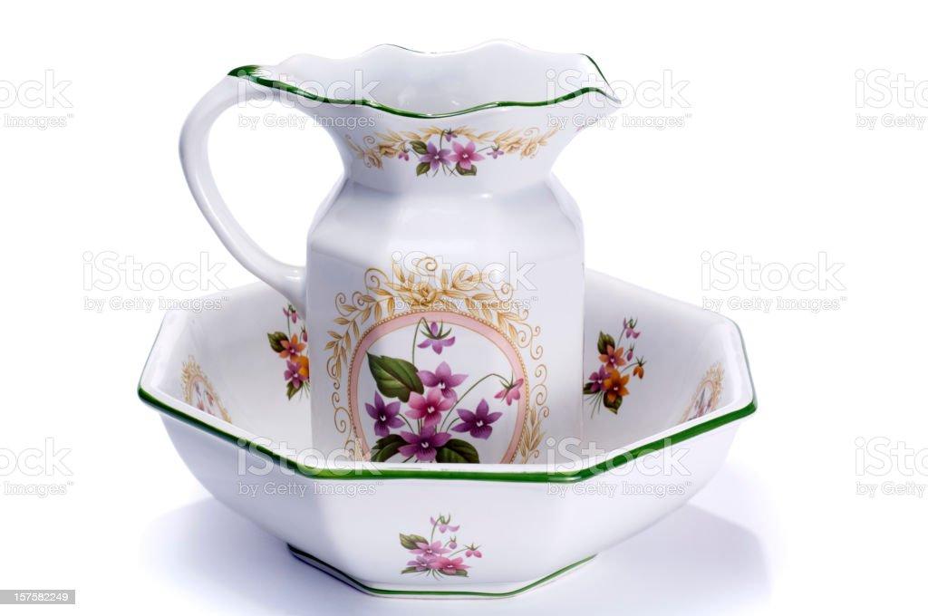 Wash Bowl royalty-free stock photo