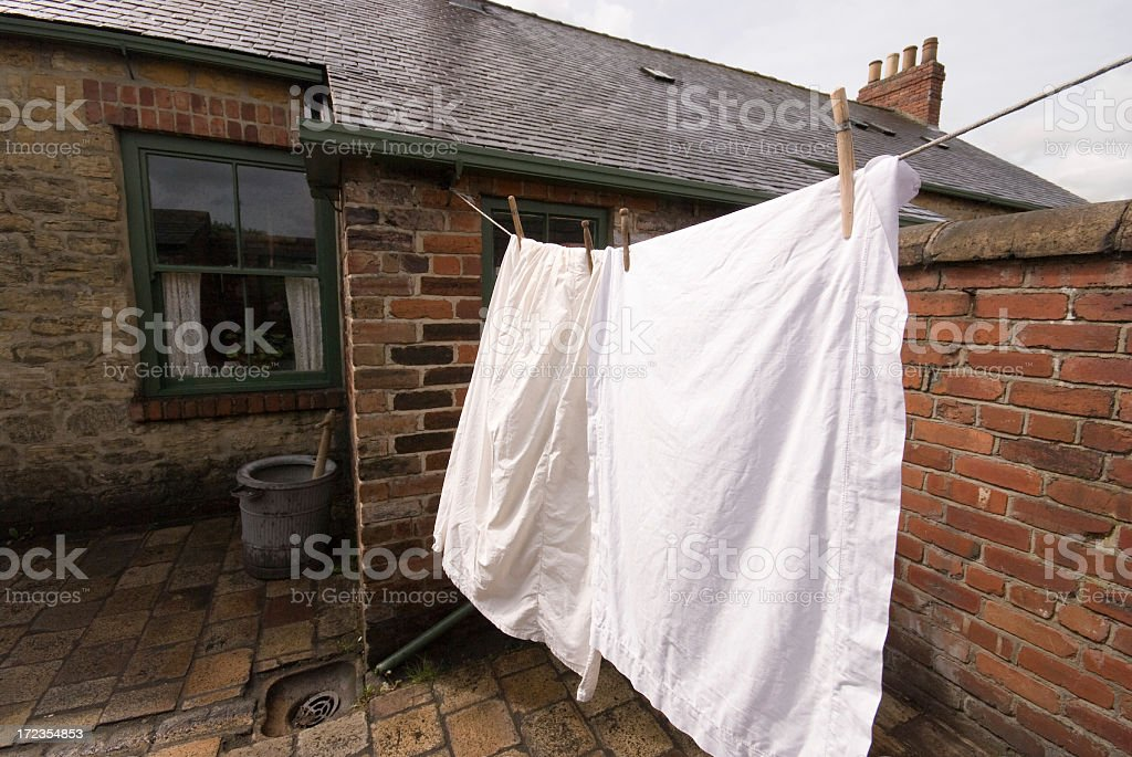 Wash Day royalty-free stock photo