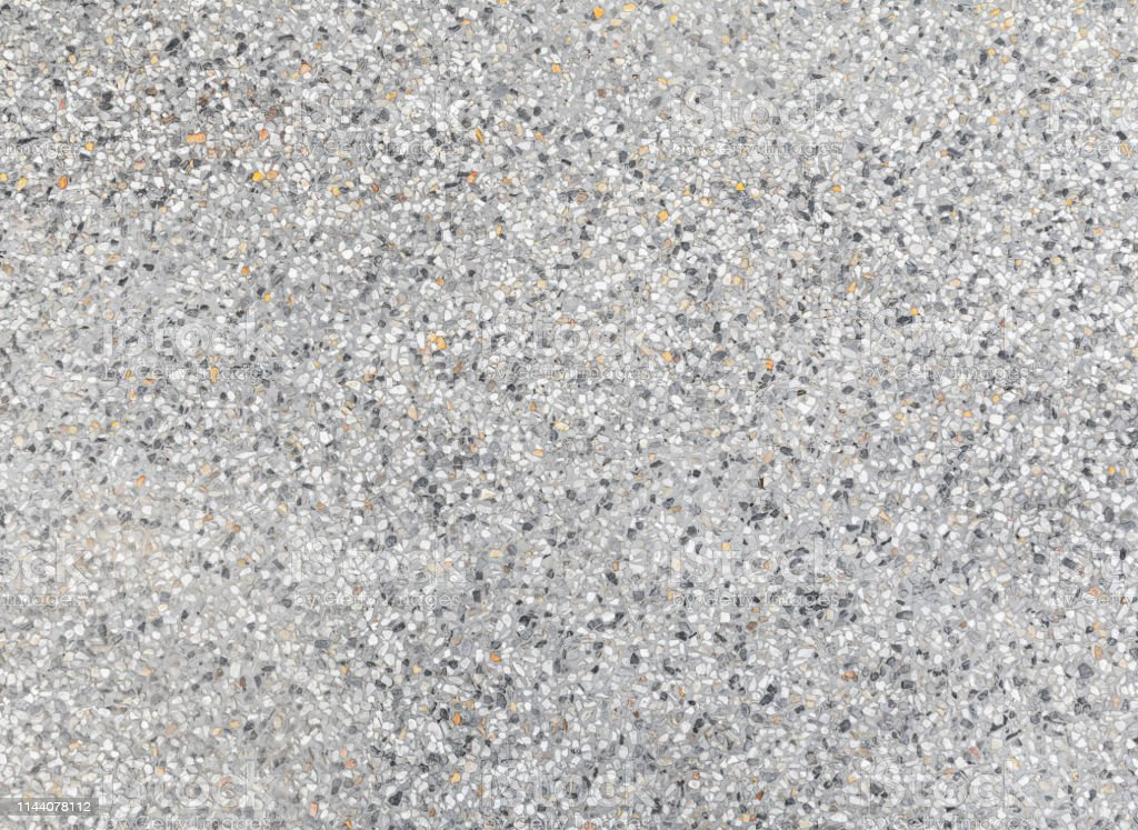 Wash Sandstone Or Terrazzo Flooring Pattern And Color Gray