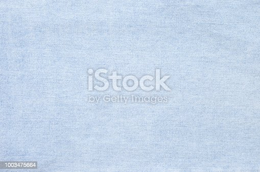 Washed and shabby blue denim texture as background.