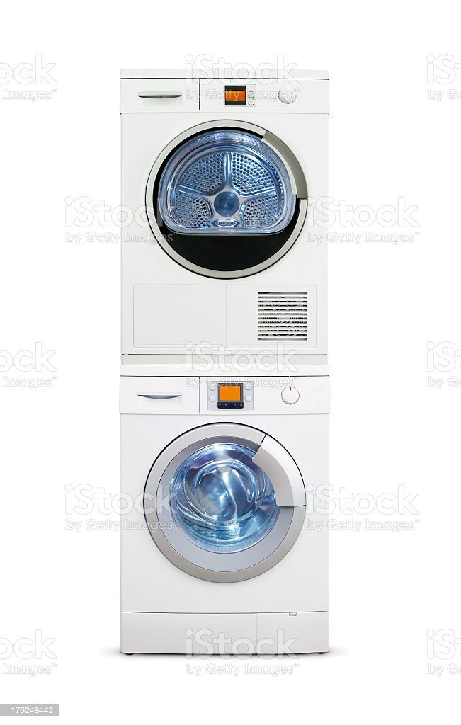 Washer And Dryer (Click for more) stock photo