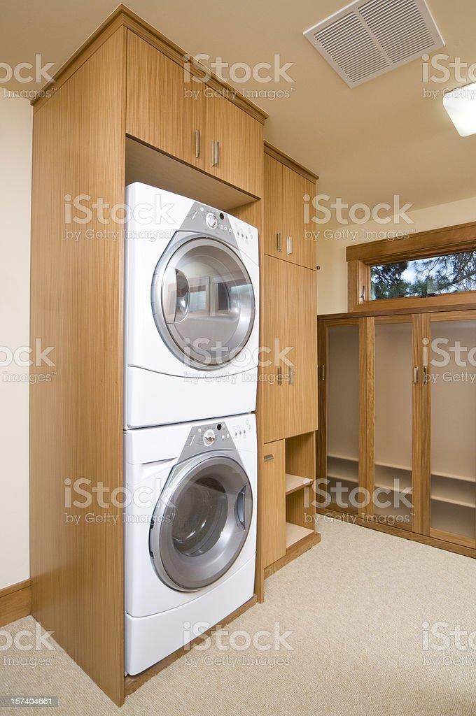 Waschmaschine Und Trockner Der Marke Auf Jeder Andere In Einem