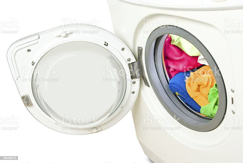Washer. royalty-free stock photo