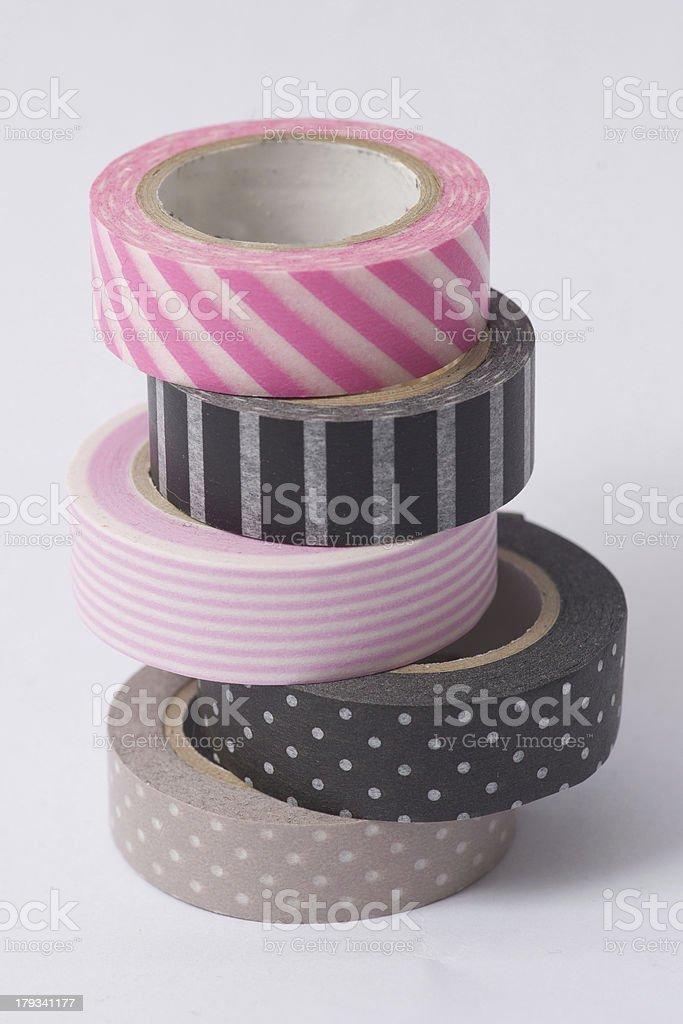 Washi-tape-Rollen auf Haufen – Foto