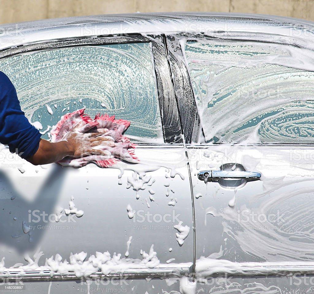 Lavagem de car - foto de acervo