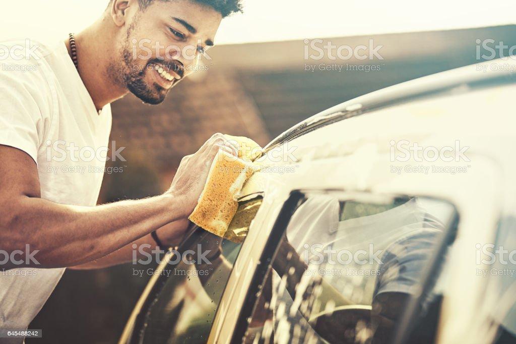 Lavage de voiture  - Photo