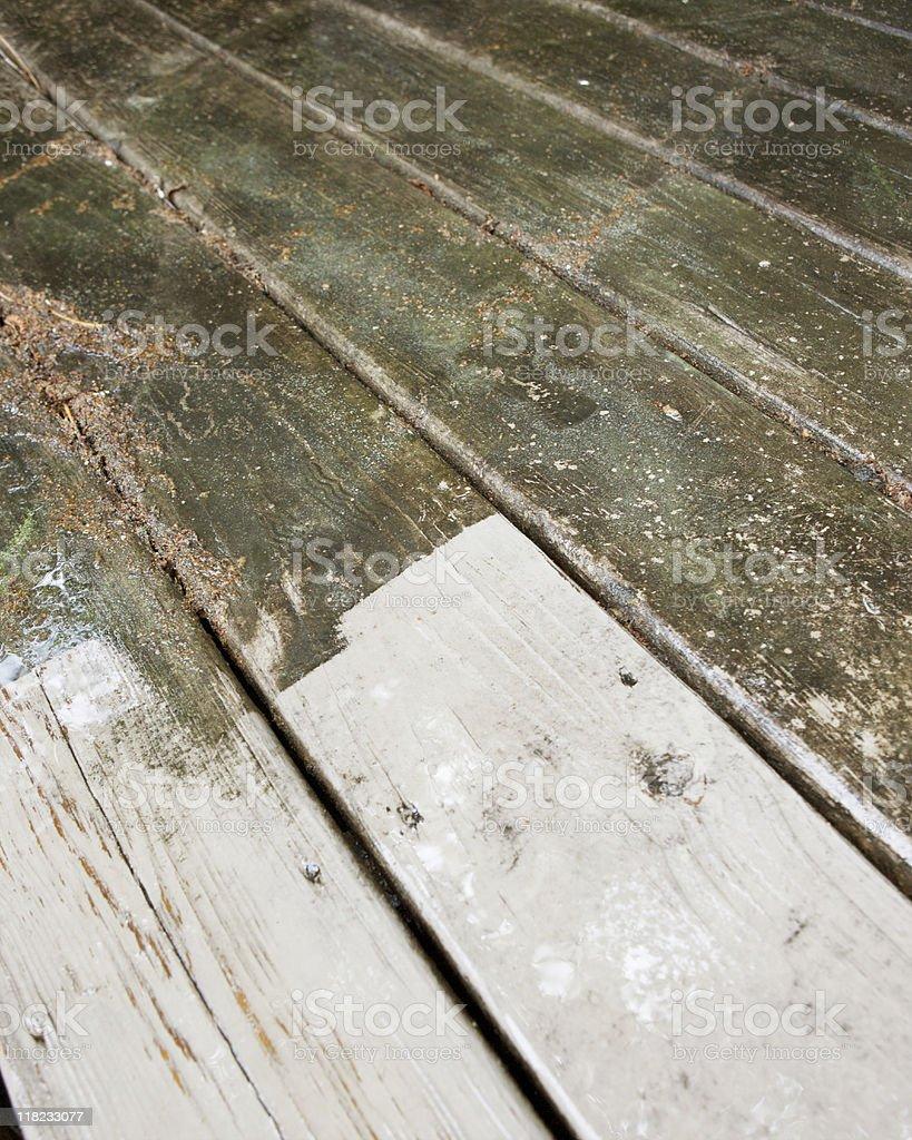 Washing Deck royalty-free stock photo