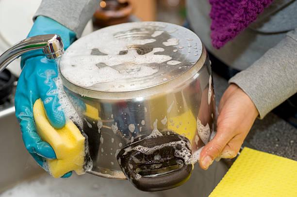 Abwaschen-pot – Foto