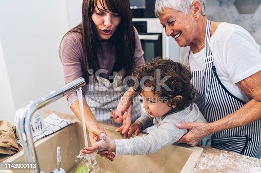 istock Washing hands 1143900113