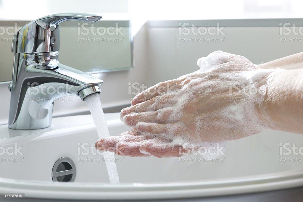 Hände waschen – Foto