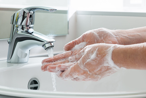 Washing Hands Stock Photo - Download Image Now