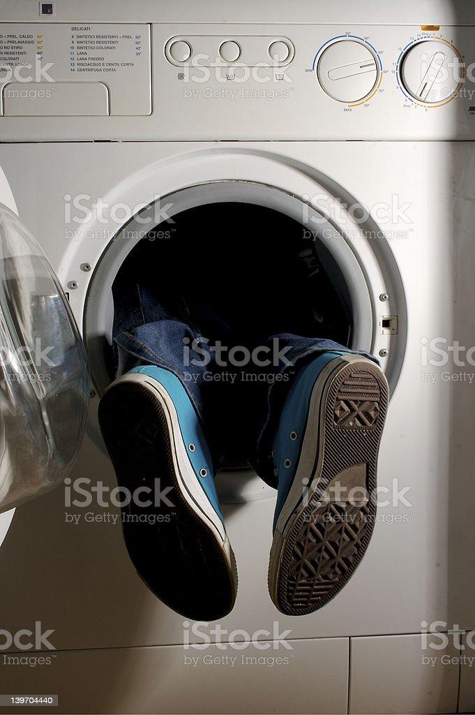 washing machine 4 royalty-free stock photo