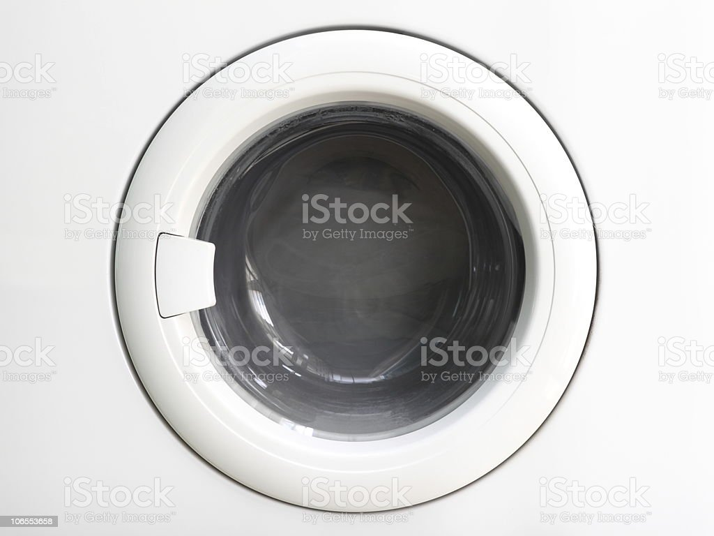 washing machine front lid royalty-free stock photo