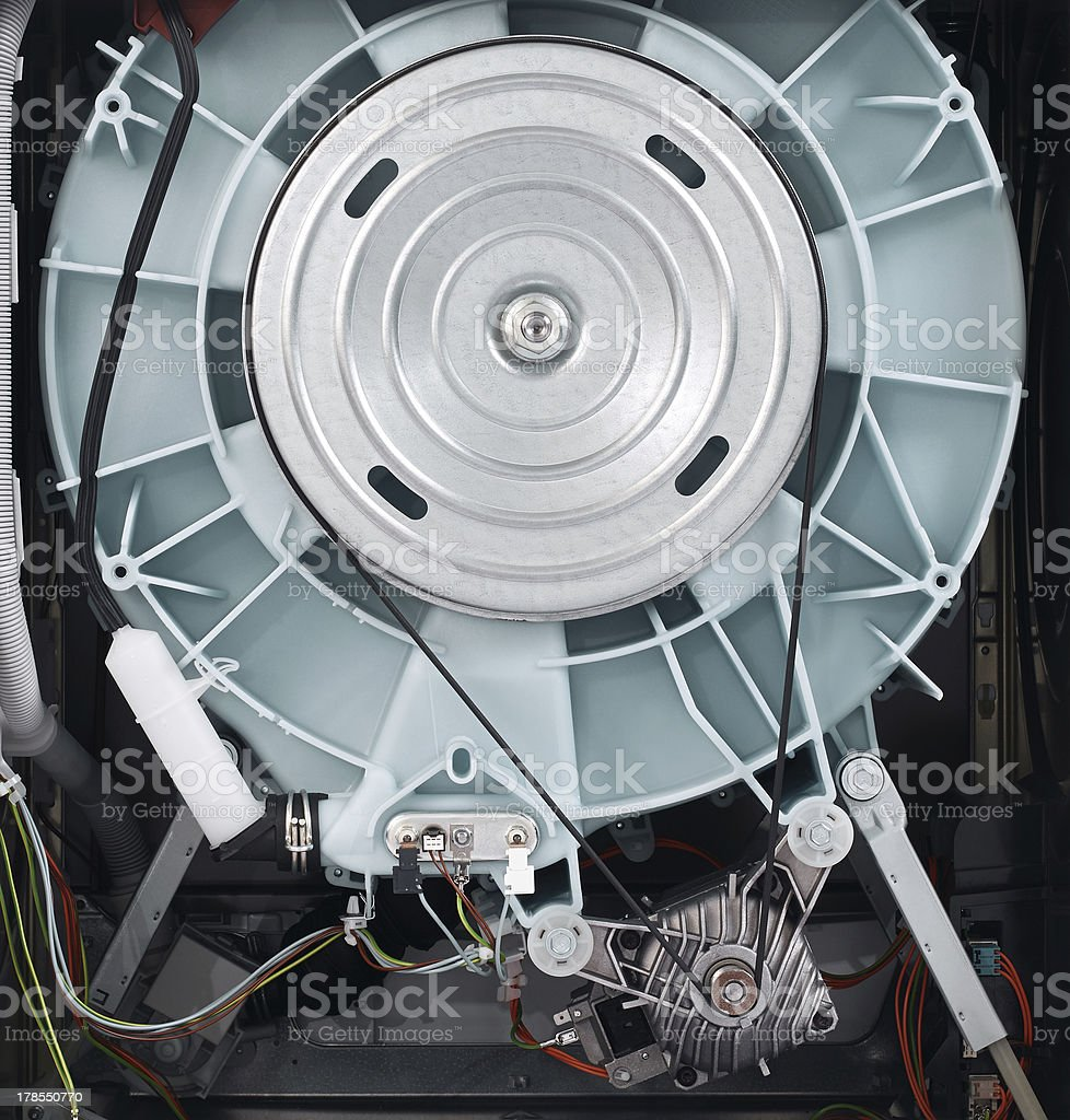 Washing Machine Mechanism stock photo