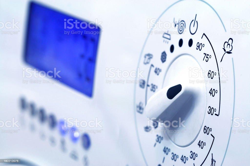 Washing machine modern style stock photo