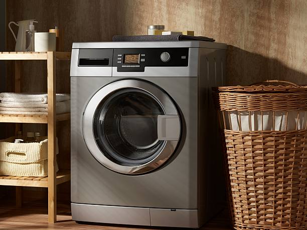 washing machine - laundry laundry room stock pictures, royalty-free photos & images